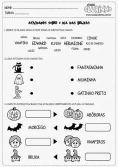 Educar X: Atividades Halloween em inglês