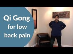 Qi Gong Routine for Back Pain - Easy w/ Jeff Chand - YouTube