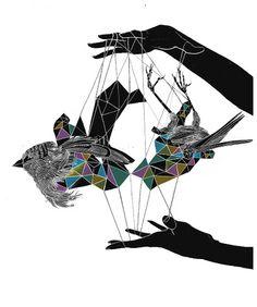 Jorge Roa aka Conjunto Universo - aves textiles