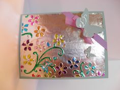 Foil card with extra colors