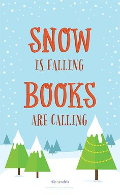 Winter Reading Posters for Your Library - Alexandria Library Automation Software School Library Displays, Middle School Libraries, Library Themes, Library Posters, Library Quotes, Reading Posters, Elementary Library, Book Posters, Library Lessons
