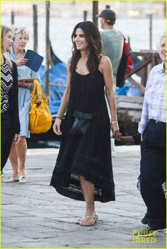 Sandra Bullock Squashes George Clooney Romance Rumors   Celebrity Babies, George Clooney, Louis Bullock, Sandra Bullock Photos   Just Jared