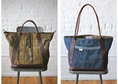 FINALLY! I found a place that sells my style of bags - everything is made from WWII, 1940s and 50s materials.