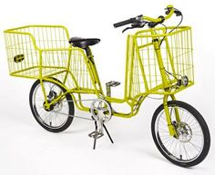 fun + functional, the Camioncyclette by Machet