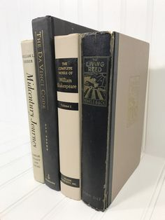 Black and Tan Decorative Book Set by ElementsByAmber on Etsy. Decorative Books. Check out vintage items to decorate shelves and mantels. Shelf Decor. Mantel Decor. Decorating shelves. Decorating Mantel.