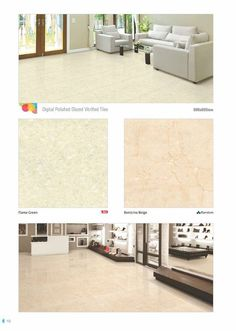"""Make a statement in #style.  #Flame #Green & Botticino #Beige - Millennium Tiles 600x600mm (24x24) Digital Brilliante PGVT Porcelain #Tiles Series - CF Technology: """"CF"""" stands for """"Crystal Fortification"""" This technology is mainly used in the """"Brilliante HD"""" & """"Rubosto HD"""" series. The composition of special chemicals are applied on the tiles after the printing process which fortified the tiles against """"discolouration"""" and """"distortion"""" in print."""