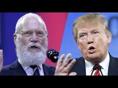 David Letterman would like 'an hour and a half' with 'big and doughy' Trump