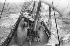 The 'Grace Harwar' sailing in a storm | Flickr - Photo Sharing!