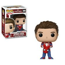 * From the Spider-Man Videogame, Spider-Man Unmasked, as a stylized POP vinyl figure from Funko!* Stylized collectible stands nearly 10 cm tall, perfect for any Spider-Man Videogame fan!* Collect and display all Spider-Man Videogame POP! Funko Pop Marvel, Marvel Pop Vinyl, Funko Pop Spiderman, Spider Man Funko Pop, Venom Funko Pop, Pop Figurine, Figurines Funko Pop, Funko Pop Toys, Funko Pop Vinyl