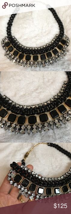 Juicy Couture - Statement Necklace. Excellent Condition. Worn once and never again! Kept safe in my jewelry box. Price is definitely negotiable and I'm always open to all offers. Juicy Couture Jewelry Necklaces