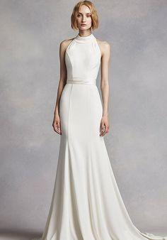 White by Vera Wang. My wedding dress