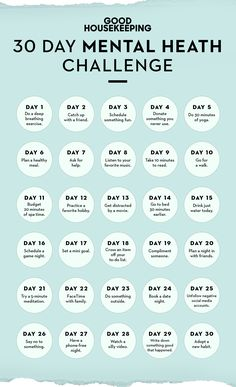 This Mental Health Challenge Is Like a Makeover for Y.- This Mental Health Challenge Is Like a Makeover for Your Mood Self-care challenge 30 days - Wellness Plan, Health And Wellness, Wellness Tips, Mental Health And Wellbeing, Women's Health Fitness, Health Goals, Fitness Hacks, Fitness Plan, Holistic Nutrition