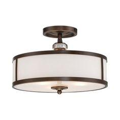 Minka Lavery 4942-570 3 Light Thorndale Semi Flush Ceiling Light $219