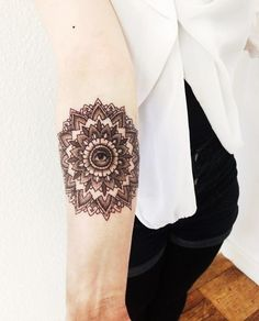 Mandala tattoo big gallery #tattoo #mandala