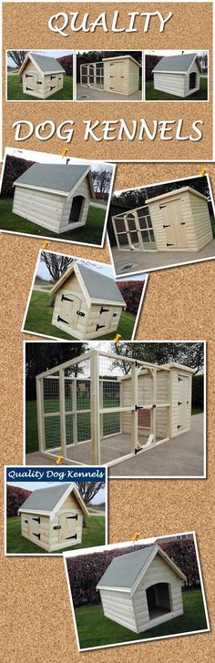 Dog Kennels hand made by Quality Dog Kennels. www.qualitydogkennels.co.uk/dog-kennels/