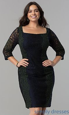 Shop Simply Dresses for long formal dresses like Short formal dresses, prom dresses, cocktail party dresses, evening gowns, casual and career dresses. Short Semi Formal Dresses, Plus Size Formal Dresses, Casual Dresses, Formal Prom, Formal Wear, Dress For Chubby, Plus Size Holiday Dresses, Full Figure Dress, Lace Party Dresses