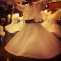 Whirling dervishes, Mevlana Cultural Center, Istanbul from Lauren Cucinotta the Branding + Editorial Manager for TEDx