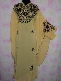 Caftan tutorial - love the shape of this one.