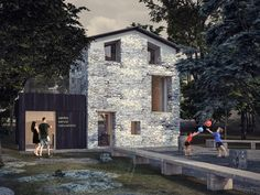 render build-design centro polifunzionale