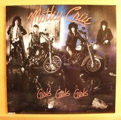 MÖTLEY CRÜE - Girls Girls Girls - mint minus - Vinyl LP - AOR - most nm OIS RARE