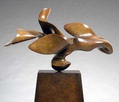 "Sequita II Bronze; Edition 2/5 | 68"" H x 52"" x 20"""