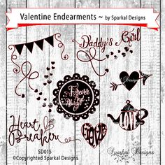 Valentine Heart Love SVG Typeography Tea by SparkalSVGDesigns #SvgDesigns #EasterSVG #SilhouetteCuttingFiles #Valentines SVG