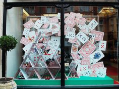 """CHRISTIAN LOUBOUTIN, London, UK, """"Playing Your Cards Right"""", pinned by Ton van der Veer"""