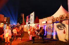 Best festival lighting astral Glastonbury Koi awards.