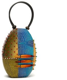 Wearable Objet D'Art : handbags and jewelry in alternative materials | Kathleen Dustin