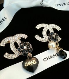 Chanel Button Brooches Pins ArmCandyDesignsbyZ on Etsy