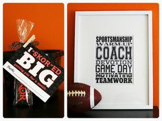 Coaches gift printables