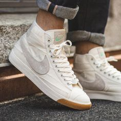 sports shoes 97d66 b886b nike blazer mid premium vintage white