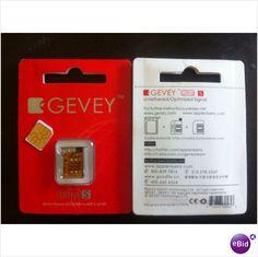 GEVEY ULTRA S Unlock Sim for ANY GSM iPHONE 4S + Setup sim on iOS 5.1 5.0.1 on eBid United States #ebid #ebay #gevey #apple #iphone #iphone4s