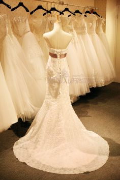 8e9db82b802 2015 spring and summer wedding bride wedding dress trailing princess small  package hip Slim thin body sculpting fishtail. White Dream