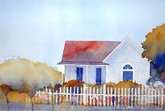 higginsville house | higginsville missouri - watercolor | Don Gore | Flickr