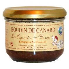 Boudin de canard 180 gr - se mange comme un pâté ou tiédi avec des pommes cuites - 4.31€