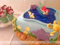 Little Mermaid Cake! ...& cake pops (;