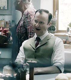 "sherlock-undercover: ""Mycroft - Mycroft - Mycroft - Mark! (Season 3 Bloopers) """