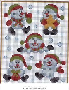 point de croix collector special noel - audrey georgel - Álbuns da web do Picasa Xmas Cross Stitch, Cross Stitch Kits, Cross Stitch Charts, Cross Stitch Designs, Cross Stitching, Cross Stitch Embroidery, Cross Stitch Patterns, Christmas Perler Beads, Diy Perler Beads