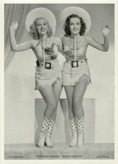 glamorous cowgirls ~ Look @Justine Sylvie again, it's you & I! :) :) hehe