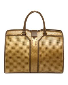 Yves Saint Laurent Cabas Chyc Perforated Large East West Bag