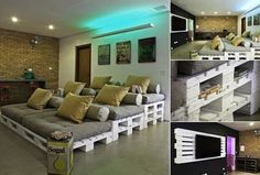 DIY Pallet Movie Theater | IKEA Decoration