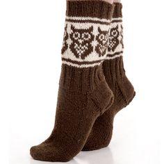 Knitting Charts, Knitting Socks, Knitting Patterns, Knitted Owl, Knit Crochet, Mitten Gloves, Mittens, Owl Socks, Wrist Warmers