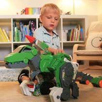 Amazon.com: VTech Switch & Go Dinos - Jagger The T-Rex Dinosaur: Toys & Games