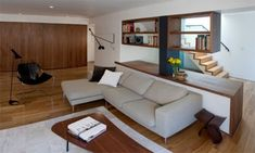 small apartment renovation | Garage Renovation to Make Small Apartment Living Space | Architecture ...