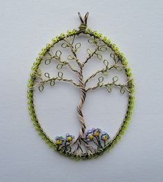 Silver Birch with Violets by Louise Goodchild, via Flickr