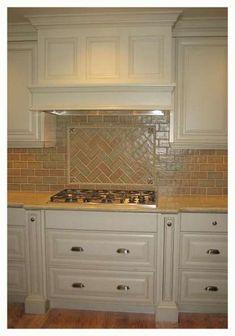 Handmade Tile Kitchen Backsplash with Honey Bees Ceramic Painting, Ceramic Art, Kitchen Backsplash, Kitchen Cabinets, Handmade Tiles, Contemporary Ceramics, Tile Art, Home Renovation, Pottery Art