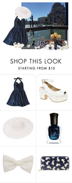 """You Know Sometimes, Baby, I'm So Carefree"" by blind-mermaid ❤ liked on Polyvore featuring Maje, ASOS, Maison Michel, Deborah Lippmann, American Apparel and FC Select Vegan Bags"