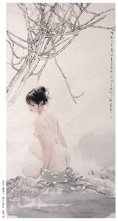 李爱国画展