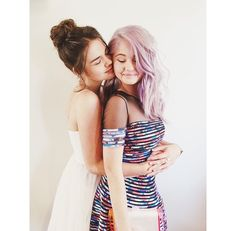 Maia Mitchell and Debby Ryan